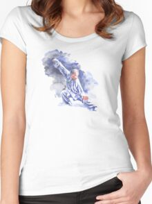Yang Tai Chi Women's Fitted Scoop T-Shirt