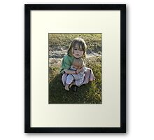 """Me and My Doll"" #5 Framed Print"
