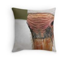 Wrinkles of wisdom (square format) Throw Pillow
