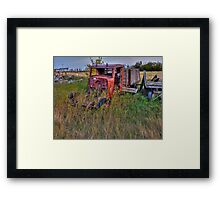 Where is The Rest of Me Framed Print