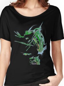 *FROG IN THE GRASS* Women's Relaxed Fit T-Shirt