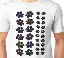 Paw Prints Pattern Unisex T-Shirt
