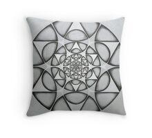 matrix of earth Star  Throw Pillow