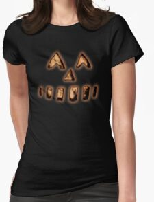 Mike-o-Lantern Womens Fitted T-Shirt