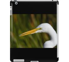 Great White Egret iPad Case/Skin