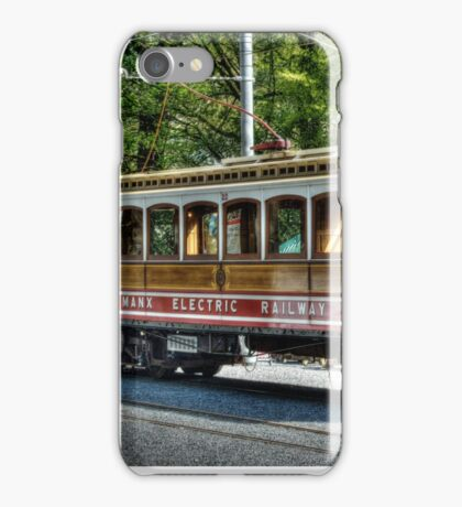 The Electric Trains on Isle of Man iPhone Case/Skin