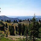 Lassen Mountain Range by flyfish70
