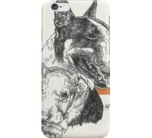 Bull Terrier Father & Son iPhone Case/Skin