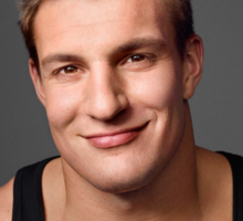 Gronk with a Cat T-Shirt Sticker