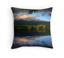 Trillium Reflection Throw Pillow