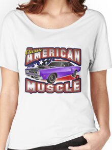American Muscle Car Series - Super Bee Women's Relaxed Fit T-Shirt