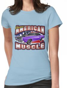 American Muscle Car Series - Super Bee Womens Fitted T-Shirt