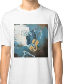 The Old Guitarist: A Picasso Study Classic T-Shirt