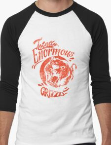 Quote - Totally Enormous Grizzly Men's Baseball ¾ T-Shirt