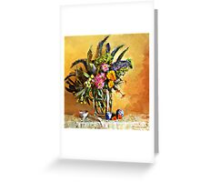 Echiums and Loquats Greeting Card
