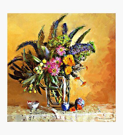 Echiums and Loquats Photographic Print