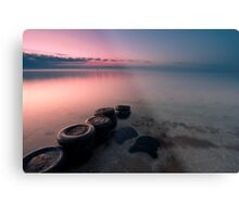 Tired Metal Print