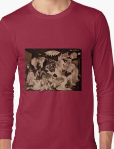 My Guernica: A Picasso Study Long Sleeve T-Shirt