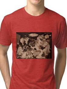 My Guernica: A Picasso Study Tri-blend T-Shirt