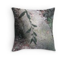 Under our foot steps Throw Pillow