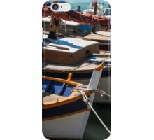 Fishing boats, Cassis, French Riviera iPhone Case/Skin