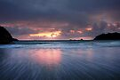 Mount Maunganui Sunrise, day break 1 by Ken Wright