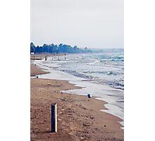 Evening at Sauble Beach, Lake Huron Photographic Print