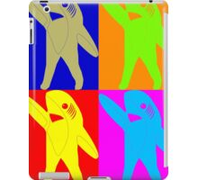 Left Shark Super Bowl POP ART (Warhol) Half Time Dancing Shark 2015 iPad Case/Skin