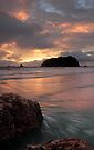 Mount Maunganui Sunrise, day break 4 by Ken Wright