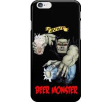 Rubbernorc Beer Monster iPhone Case/Skin