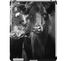 tough crowd iPad Case/Skin