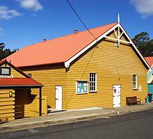 Community Hall at Central Tilba by Darren Stones