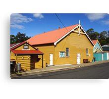 Community Hall at Central Tilba Canvas Print