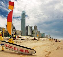Surfers Paradise by Ken Wright