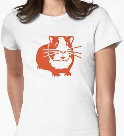 Guinea pig Womens Fitted T-Shirt