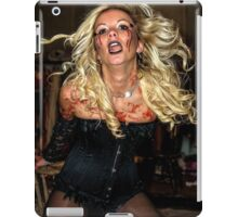 Wendy whipped herself up into a frenzy  iPad Case/Skin