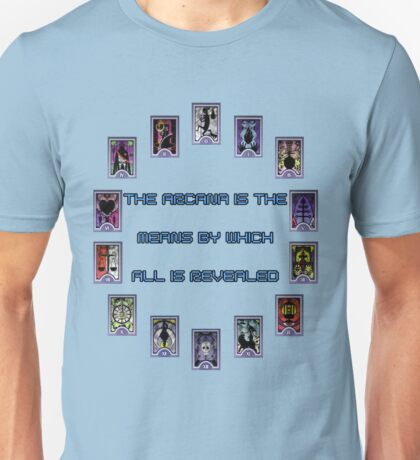 Persona 3 Arcana Quotes Unisex T-Shirt