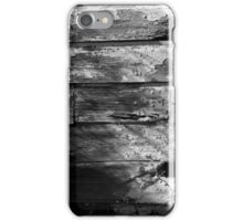 Peeling Paint on an abandoned building 2 iPhone Case/Skin