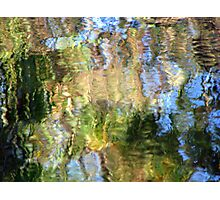 Coloured Water 3 Photographic Print