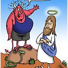 Aussie Temptaiton of Christ by ShaneStringer