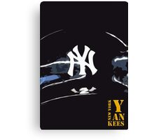 New York Yankees Canvas Print