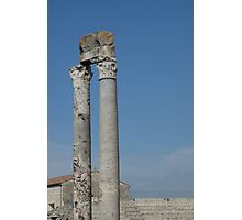 Columns of Roman Theatre, Arles Photographic Print