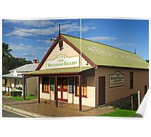 Woodturning Gallery at Central Tilba Poster
