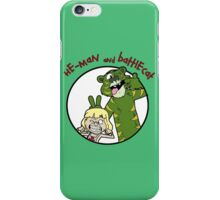 He-man and Battlecat iPhone Case/Skin