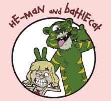 He-man and Battlecat One Piece - Short Sleeve