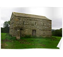 Dales Barn #3 Poster