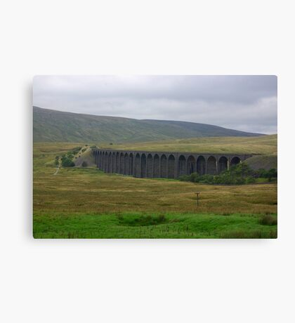 Another View of The Ribblehead Viaduct Canvas Print