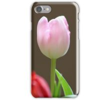 Pink and Red Tulips iPhone Case/Skin
