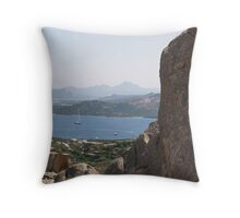 A Hole in the Rock Throw Pillow