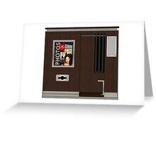 Modern Photobooth Greeting Card